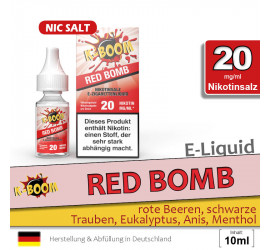 K-Boom Red Bomb NS Liquid (high 20)