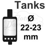 22-23mm Verdampfer Tanks