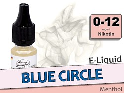 E-Liquid Blue Circle Menthol