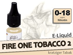 Fire One Tobacco 2 Tabak Liquid