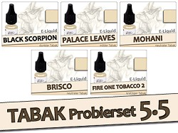 Tabak-Liquid-Set 5.5