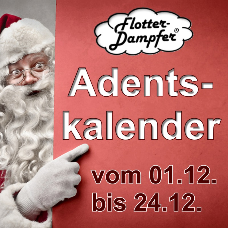 Flotter-Dampfer Adventskalender 2018